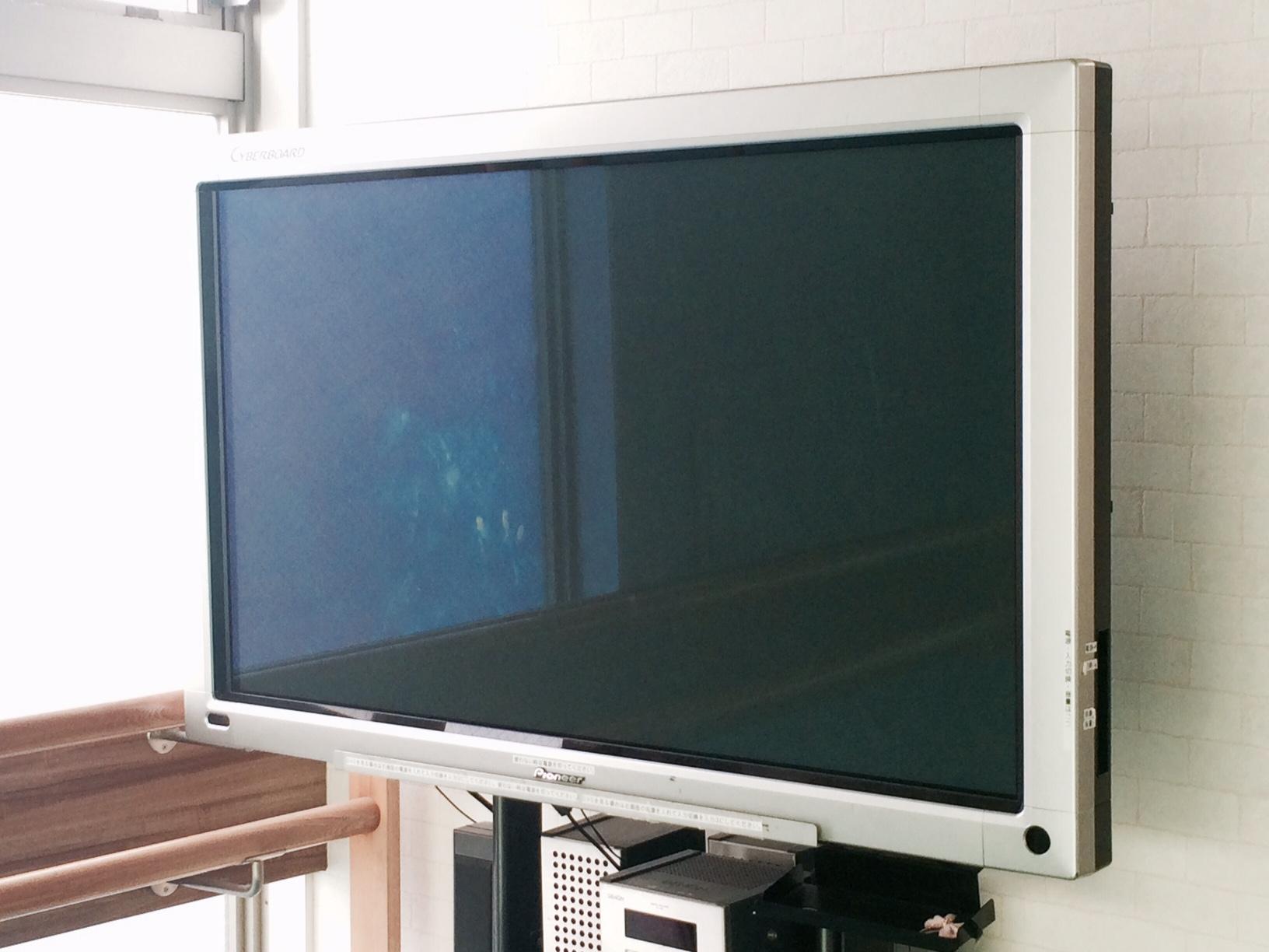 三軒茶屋 レンタルスタジオ TV モニター