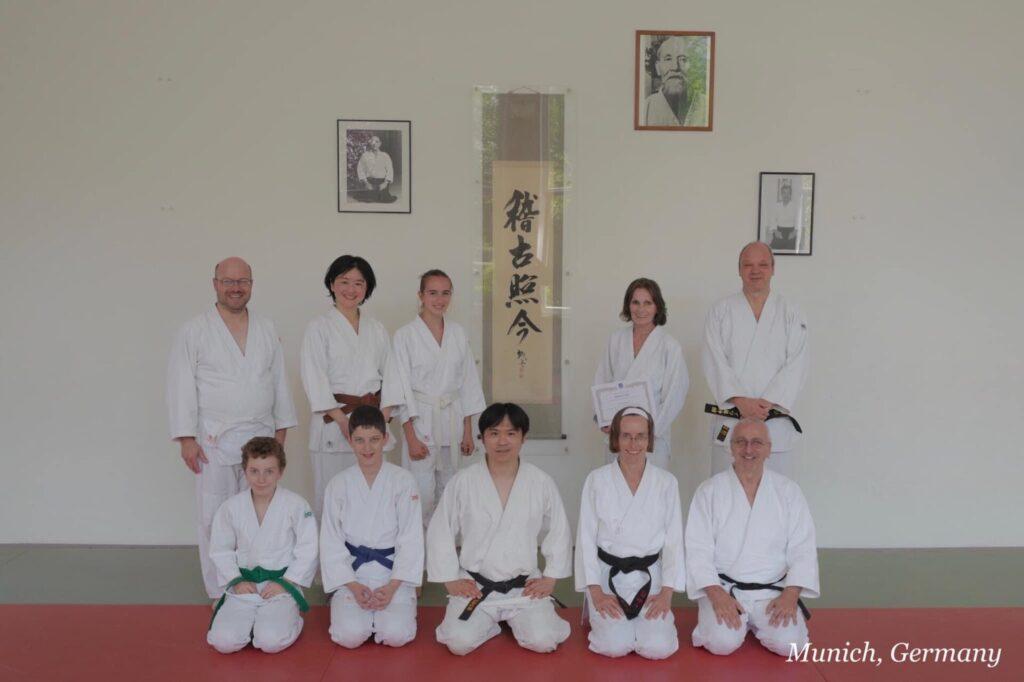 Shuken Sato Aikido Ryu Bashamichi